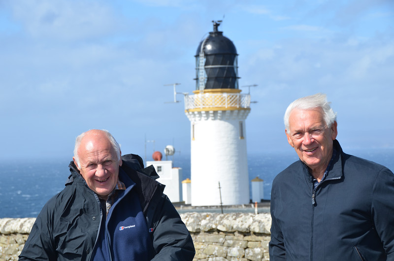 Andy & Russ at Dunnet Head