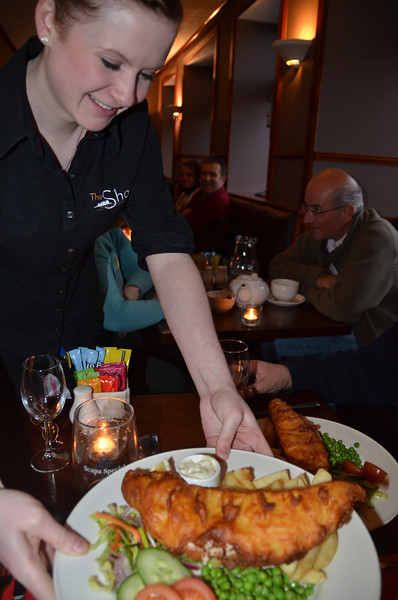 Fish and yet more deep-fied Haddock