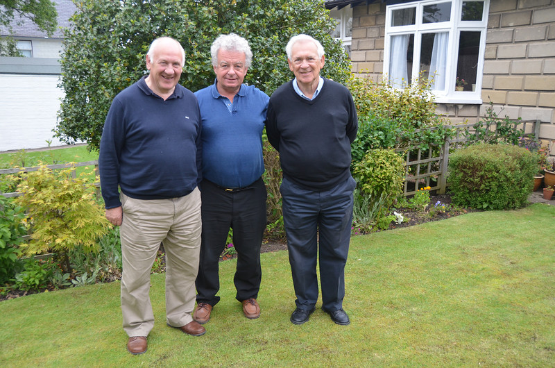 Andy, Ian & Russ at St Andrews. Until we meet again in Scotland... 2012 to the Outer Hebrides, or will our next trip be 2013? Russ has put in a request for St Kilda to be included (our brilliant chief organiser, Andy, please note)