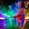 Spark! heading the Halloween Parade in Paisley on 28th October and performing on stage with their trademark LED drum set. It was their usual polished performance, playing on stage in the fire garden this year added that bit extra to the show.