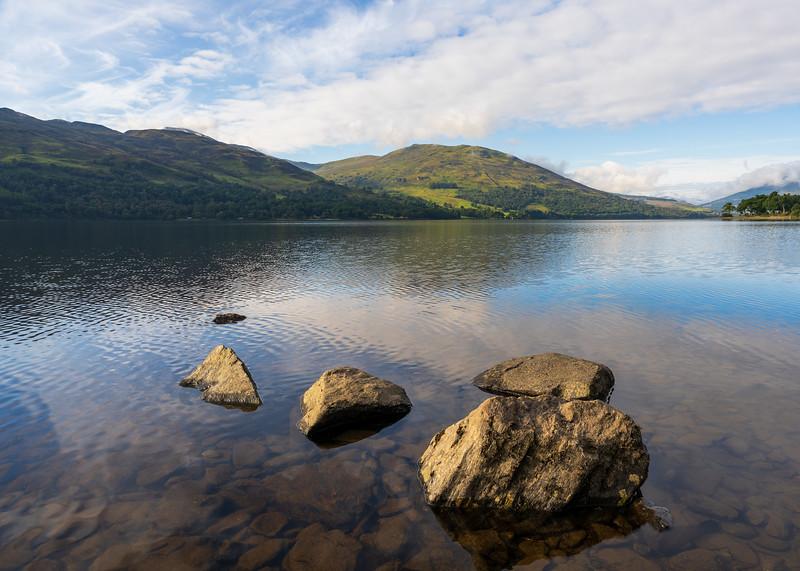 Calm Autumn Morning Overlooking Loch Earn