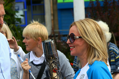 Queens Baton Relay, Johnstone