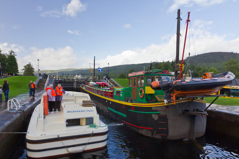 SCOTLAND-FT. AUGUSTUS-CALEDONIA CANAL