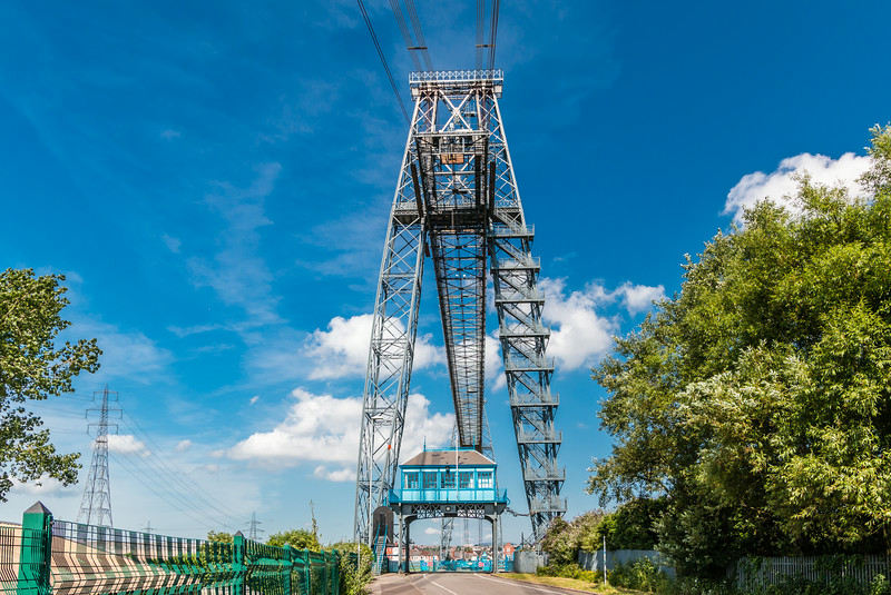 UK-WALES-NEWPORT-TRANSPORTER BRIDGE