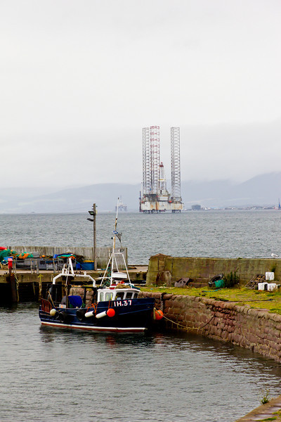 SCOTLAND-CROMARTY-OIL DRILLING RIG