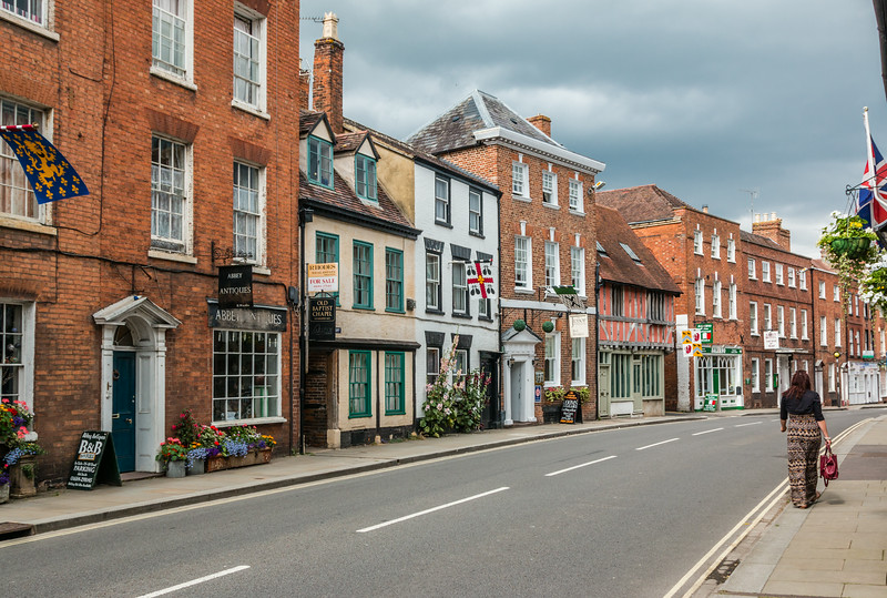 UK-THE COTSWOLD-TEWKESBURY