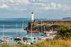 UK-WALES-BARRY-BARRY DOCKS WEST BREAKWATER LIGHT