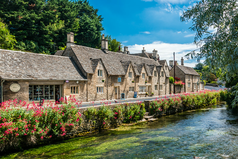 UK-THE COTSWOLD-BIBURY