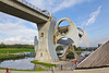SCOTLAND-FALKIRK-FALKIRK WHEEL-UNION CANAL ABOVE