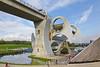 SCOTLAND-FALKIRK-FALKIRK WHEEL-UNION CANAL ABOVE