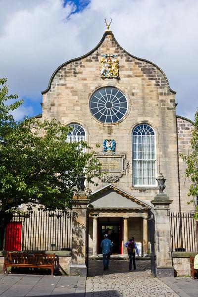 SCOTLAND-EDINBURGH-CANONGATE KIRK [CHURCH]