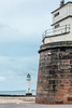 UK-WALES-WALLASEY-Fort Perch Rock-NEW BRIGHTON LIGHTHOUSE