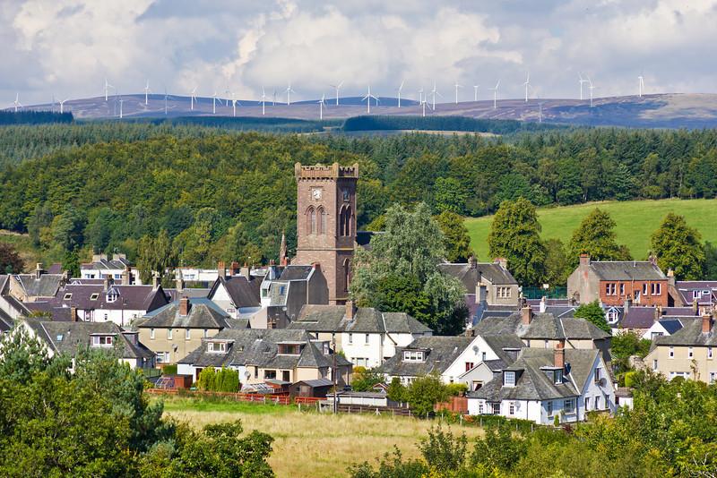 SCOTLAND-DOUNE AND WINDMILL FARMS