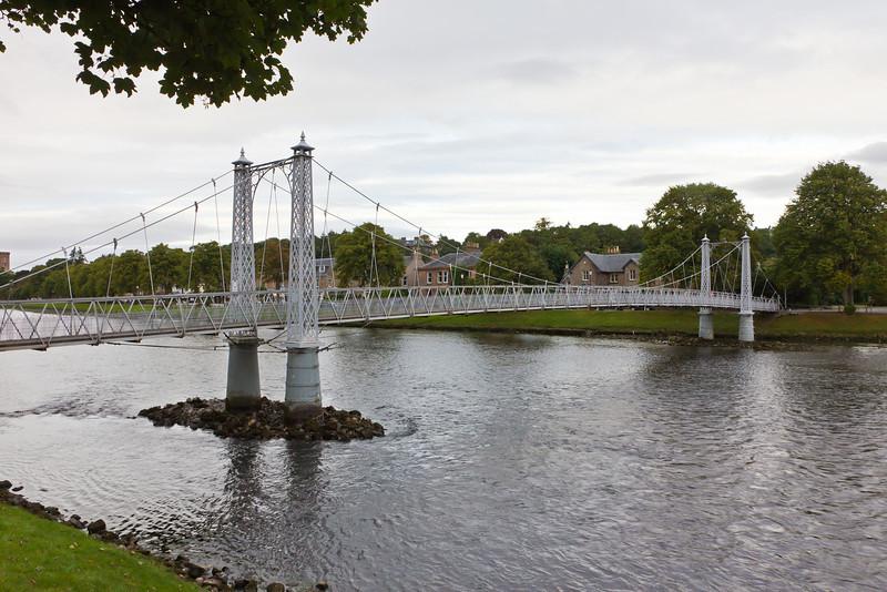 SCOTLAND-INVERNESS-FOOTBRIDGE