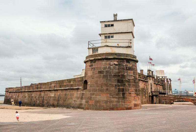 UK-WALES-WALLASEY-Fort Perch Rock