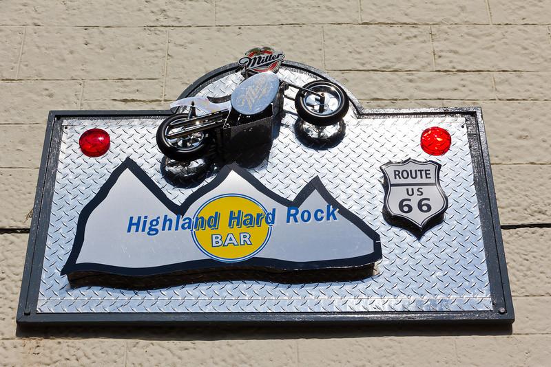 SCOTLAND-DOUNE-HIGHLAND HARD ROCK BAR