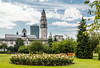 UK-WALES-CARDIFF-ALEXANDRA GARDENS-CITY HALL