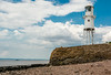 UK-PORTISHEAD-SOMERSET-BLACK NORE LIGHTHOUSE