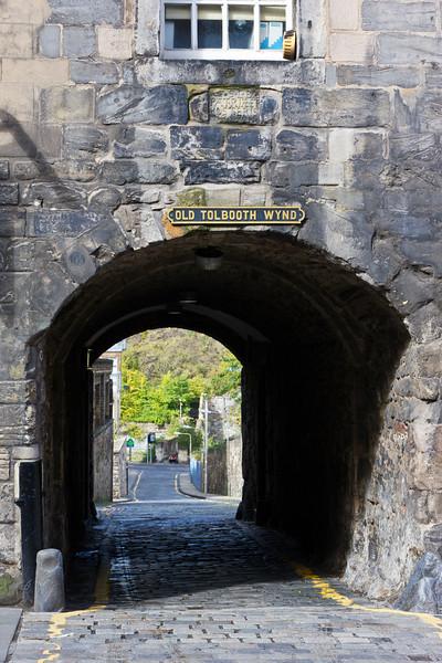 SCOTLAND-EDINBURGH-OLD TOLBOOTH WYND