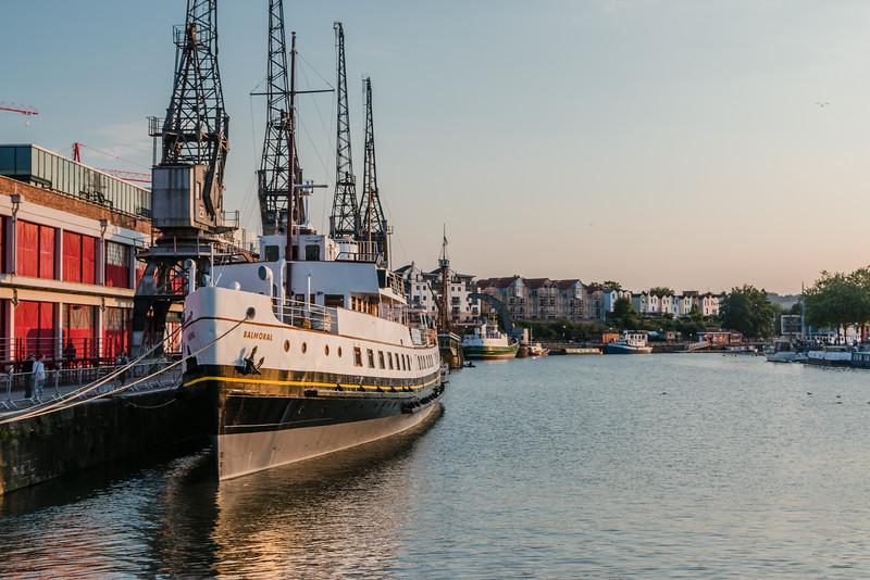 UK-BRISTOL-MV BALMORAL