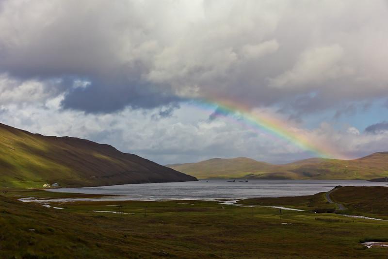 SCOTLAND-ISLE OF SKYE-LOCH AINORT
