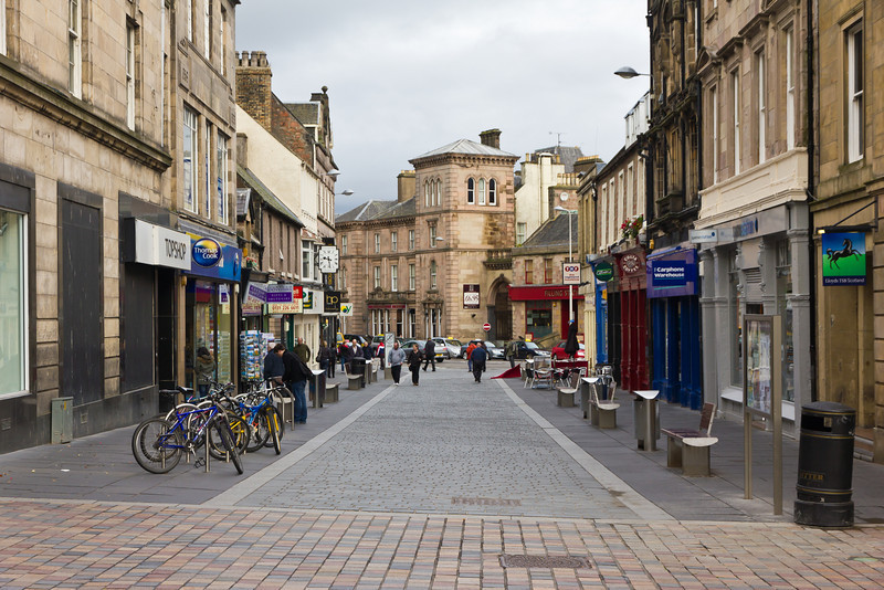 SCOTLAND-INVERNESS-DOWNTOWN