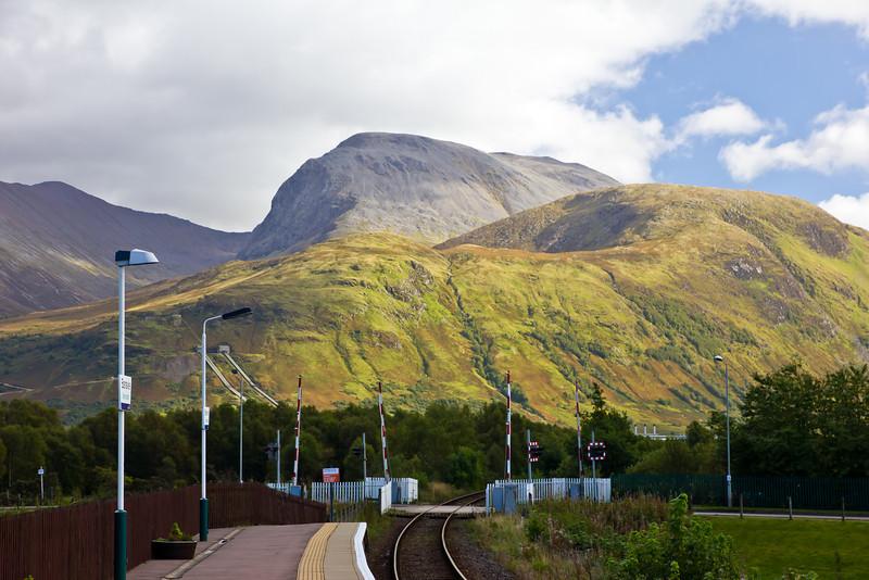 SCOTLAND-FT. WILLIAM-BEN NEVIS