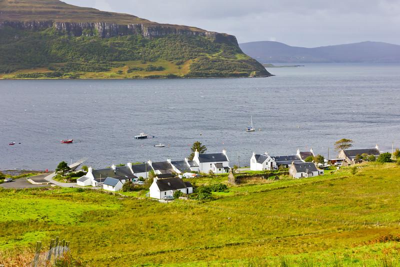 SCOTLAND-ISLE OF SKYE-STEIN