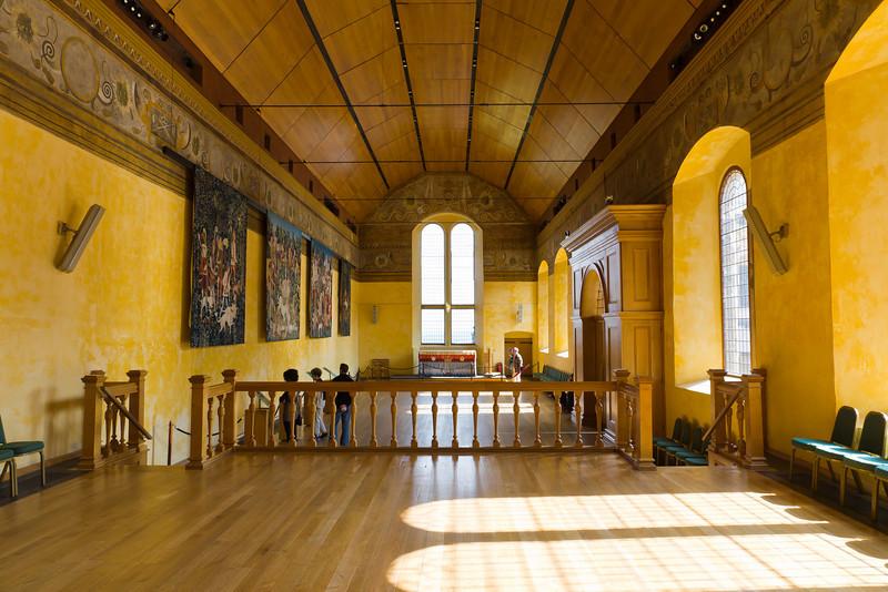 SCOTLAND-STIRLING-STIRLING CASTLE-GREAT HALL