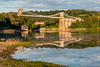 UK-WALES-ISLE OF ANGLESEY-MANAI SUSPENSION BRODGE