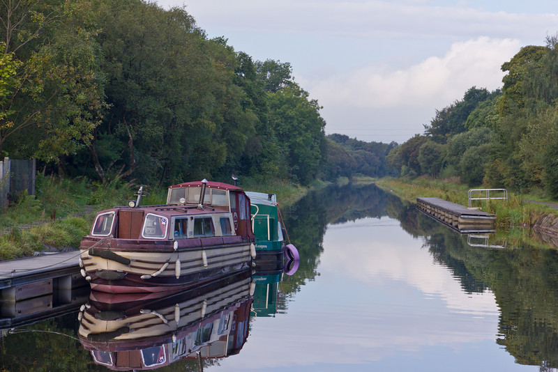 SCOTLAND-FALKIRK-FORTH AND CLYDE CANAL