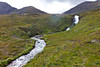 SCOTLAND-ISLE OF SKYE-THE CUILLIN HILLS-WATERFALLS