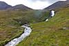 SCOTLAND-ISLE OF SKYE-THE CUILLIN HILLS-WATERFALLS