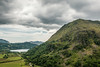 UK-WALES-BEDDEGELERT-MT. SNOWDON [CENTER]-LLYN LLYDAW [BRITTANY LAKE]