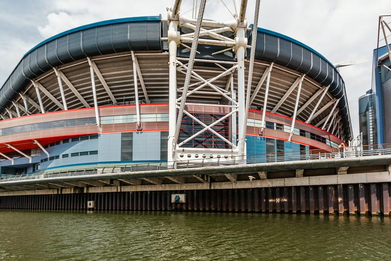 UK-WALES-CARDIFF-MILLENNIUM STADIUM FOOTBALL/RUGBY