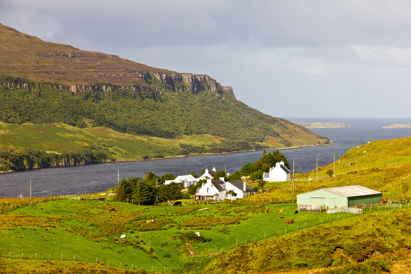 SCOTLAND-ISLE OF SKYE-LUSTA