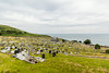 UK-WALES-LLANDUDNO-THE GREAT ORME-MARINE DRIVE-CEMETARY