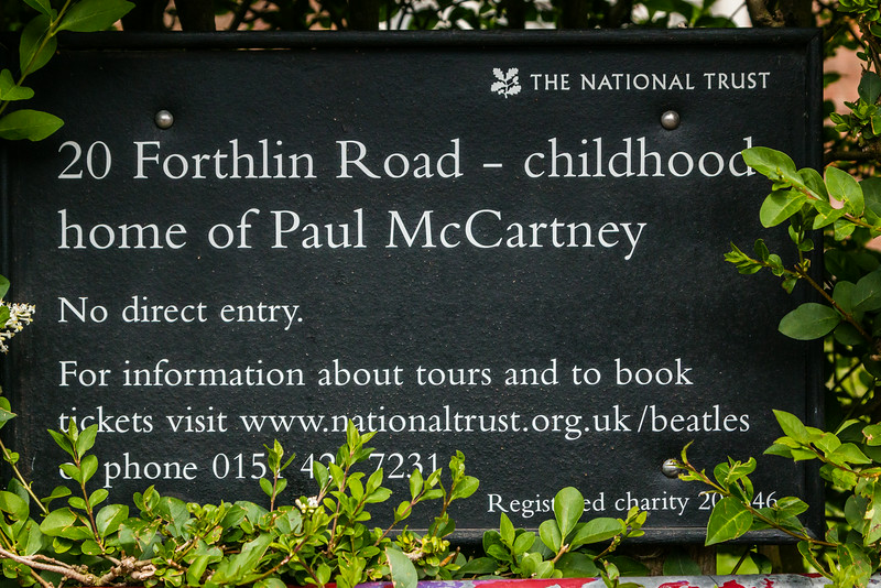 UK-LIVERPOOL-MAGICAL MYSTERY TOUR-PAUL McCARTNEY HOME