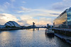 SCOTLAND-GLASGOW-RIVER CLYDE-BBC STUDIO