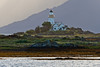 SCOTLAND-ISLE OF SKYE-ORNSAY-ORNSAY LIGHTHOUSE