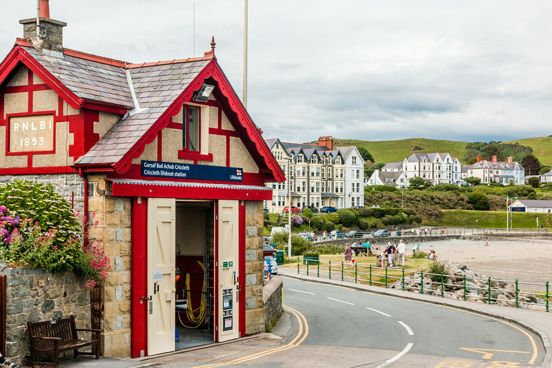 UK-WALES-CRICCIETH-LIFEBOAT STATION