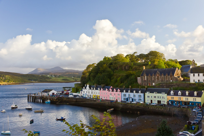 SCOTLAND-ISLE OF SKYE-PORTREE