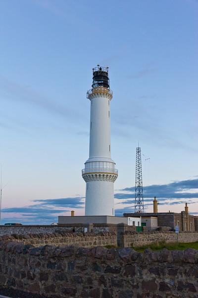 SCOTLAND-ABERDEEN-GIRDLE NESS LIGHTHOUSE