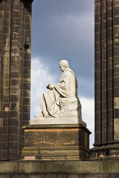 SCOTLAND-EDNIBURGH-SCOTT MONUMENT