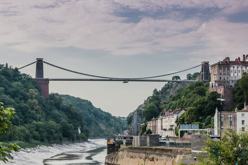 UK-BRISTOL/CLIFTON SUSPENSION BRIDGE