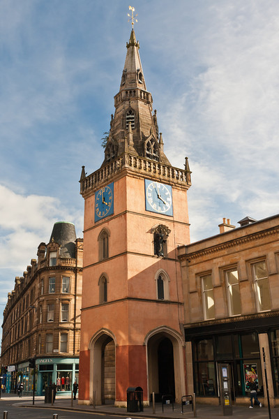 SCOTLAND-GLASGOW-TRONGATE STEEPLE