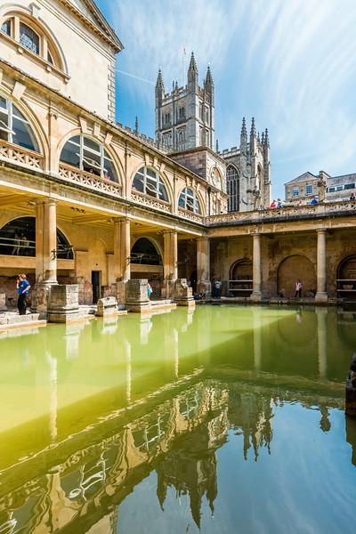 UK-BATH-ROMAN BATH