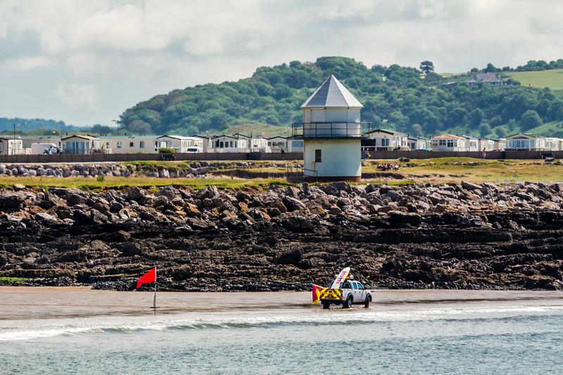 UK-WALES-PORTHCAWL-SANDY BEACH