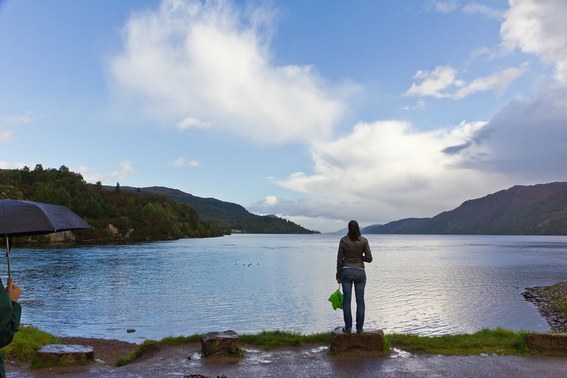 SCOTLAND-FT. AUGUSTUS-LOCH NESS