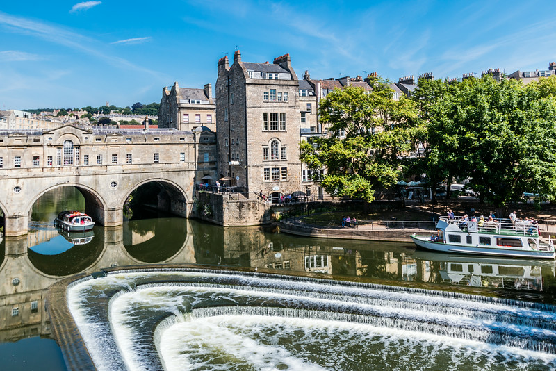 UK-BATH-AVON RIVER-PULTENEY BRIDGE